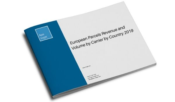 European Parcels Revenue and Volume by Carrier by Country 2019